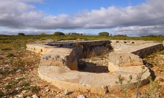 Trincheras Guerra Civil. Fuente: Terranostrum.es
